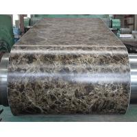 Quality Marble Grain PVC Film Laminated Metal Sheet Pre - Painted For Office Door wholesale