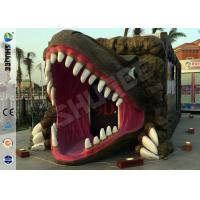 Best Removable Dinosaur Cabin 6D Movie Theater Motion Ride Hydraulic / Electric System wholesale
