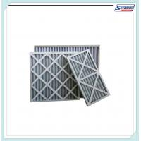 Best Galvanization Mesh Pleated Disposable Panel Pre Air Filter PU Foam wholesale