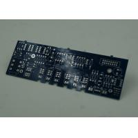 Best Blue FR4 PCB Printed Circuit Board Immersion Silver Finish White Silkscreen wholesale