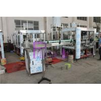 Quality Pneumatic Capping Type Bottled Water Filling Machine With Adhesive Labeling Machine wholesale
