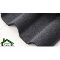 Cheap 0.38mm - 0.50mm Stone Coated Metal Roof  Tile villa building material for sale