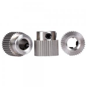Best Feed Wheel 36 Teeth MK7 MK8 3D Print Head Extruder Stainless Steel wholesale