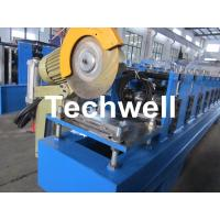 Best 13 Forming Stations Roller Shutter Door Cold Roll Forming Machine With Manual Decoiler wholesale