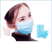 Best Anti Virus Safety Breathing Mask / Disposable Face Mask With Elastic Ear Loop wholesale