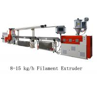 Buy cheap 8 - 15 kg/h 3D Printer Filament Extruder Line Single Screw Making Machine from wholesalers