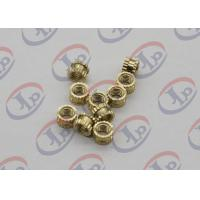 Best OEM ODM CNC Machining Parts , Swiss Lathe Turning Brass Knurled Nuts with M5 Thread wholesale