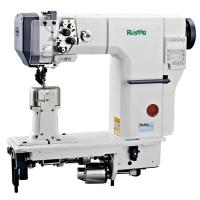 China RY9620  Double Needle Post Bed Lockstitch Shoe Leather Industrial Sewing Machine on sale