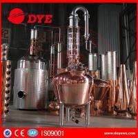 Best 300 Copper Alcohol Distiller Distillation Equipment for whiskey brandy wholesale