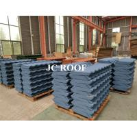 Best Customized Stone Coated Roofing Sheet , Colorful Stone Chip Coated Metal Roof Tiles wholesale