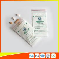 Best LDPE Clear Medical Ziplock Pill Bags For Hospital / Drugstore Disposable wholesale