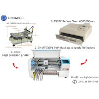 Quality CHMT530P4 SMT Production Line With Pnp Machine Solder Paste Printer T962A Reflow Oven wholesale