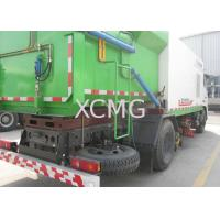 Best 8tons Multifunction Truck Mounted Sweeper , Special Purpose Vehicles Sweeping Trucks wholesale