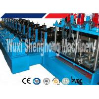 Quality Cable Tray Cold Roll Forming Machine For Colored Galvanized Steel Sheet wholesale
