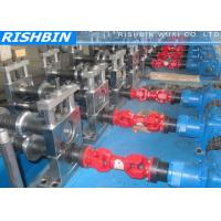 Quality Automatic Control C & Z Purlin Roll Forming Machine with 6 Stations Leveler for Structural Steel wholesale
