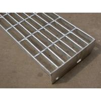 Best T4 T5 Galvanized Steel Stair Treads With Checkered Plate For Industry Floor wholesale