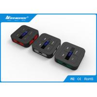 Best colorfull Bluetooth Audio Receiver , V3.0 Car MP3 Player FM Transmitter wholesale
