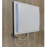 Best 12m  uhf rfid reader long range rfid reader for Parking color White Access control system wholesale