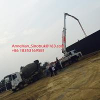 Best High Durability Sinotruk Concrete Pumping Equipment With 53 Meters Arms wholesale