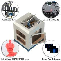 Best Creatbot D600 Pro Big 3d Printing Machine 110-220V With Dual Extruder wholesale