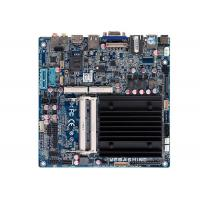 Best Intel® J1900 Processor Fanless Embedded Industrial Mainboard  2 COM Mini Itx motherboard wholesale