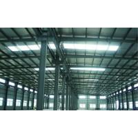 Quality High Corrosion Resistance Painting Steel Building Workshop , Structural Industrial Steel Buildings wholesale