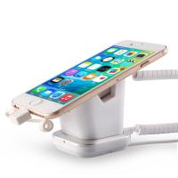 Best COMER Security Anti-Lose Cell Phone Exhibit magnetic Stand with charging cable wholesale