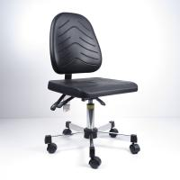 Cheap 360 Degree Swivel PU Foaming Ergonomic ESD Chairs In Special Shape And Surface for sale