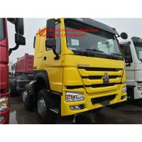 Best Sinotruck Howo 8x4 Dump Trucks Front Lift Loading 30cbm 40t ZZ3317N3267D1 336hp / 371hp wholesale