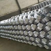 Best Zinc coating 0.9mm 20 Gauge Hot Dip Galvanized Iron Wire for Mesh Weaving wholesale