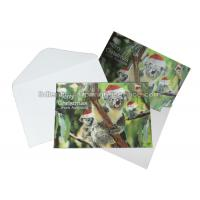 Best Custom 3D Lenticular Printing Services CMYK Offset Printing Greeting Card In PP Plastic wholesale