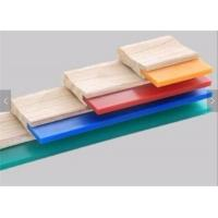 Best 75A Blade Wood Handle Screen Printing Squeegee Free Size Ink Scraper for Silk Screen Printing wholesale
