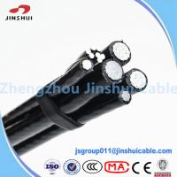 Cheap Street Lighting Triplex Overhead Wire Aluminum Service Cable NASA IEC Standard for sale