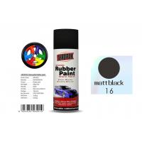 Best Matt Black Color Removable Rubber Spray Paint , Anti - Sagging Peelable Car Paint wholesale