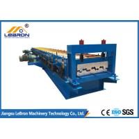 Best High Production Step Tile Roll Forming Machine Good Performance 0.8-1.2mm Thickness wholesale