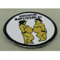 Best Customized Promotional Embroidered Badge With Merrow wholesale