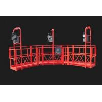 Cheap Red Arc Adjustable Suspended Working Platform Cardle for Construction for sale