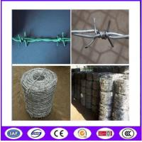 Buy cheap Anti Climb Galvanized Double Barbed Wire from wholesalers