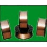 ER49-1 Si - Mn alloy G70 gas shield Flux Cored Welding Wire / copper coated
