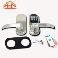 Best Easy Install Bluetooth Smart Door Lock , Keyless Wireless Door Locks Classic Design wholesale
