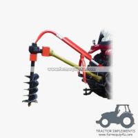 Best 3point hitch tractor post hole digger with different sizes Augers available wholesale