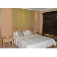 China Japanese Style Modern Hotel Bedroom Furniture Ash Wood Guest Room Furniture Set on sale