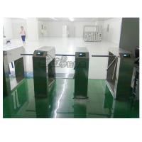 Best Electric Stainless Steel Access Control Turnstiles , Revolving Tripod Barrier Gate wholesale