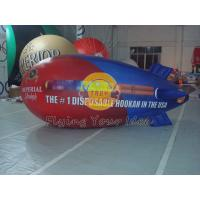 Best 0.18mm PVC Inflatable Helium Zeppelin / Blimp Balloon For Anniversary Event wholesale