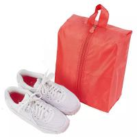 Best Mesh Small Portable Shoe Bag Red Color Multiple Practical Household Dustproof wholesale