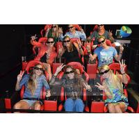 Best Interactive 7D Cinema System With Horrible Movies / Electronics Seats wholesale