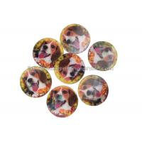 Cheap PET / PP Lovely Animal Image Sticker 3d Lenticular Printing Adhesive For Kids for sale