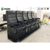 Best Environmental Motion Chair 4D Cinema Equipment With Metal Flat Screen wholesale