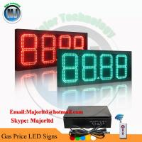 Best Outdoor 8 inch 4 digits led digital number display for Gas Station wholesale