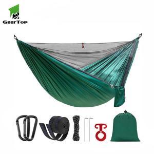 Best OEM Logo L260cm Portable Camping Hammock for Garden wholesale